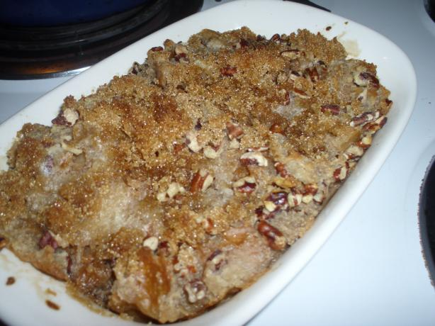 Pecan Bread Pudding