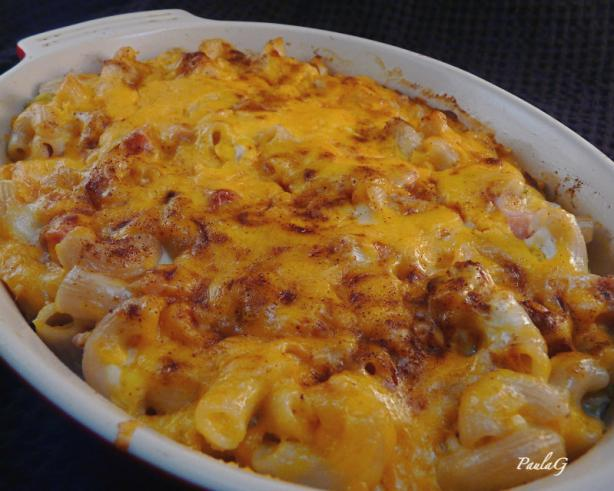 Macaroni & Cheese With Ham