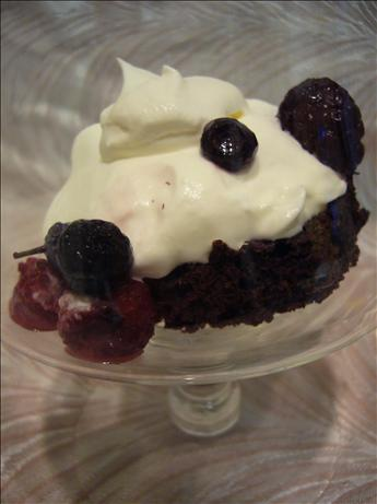 Raspberry Brownie Delight