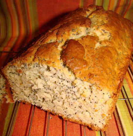 Banana Poppy Seed Quick Bread