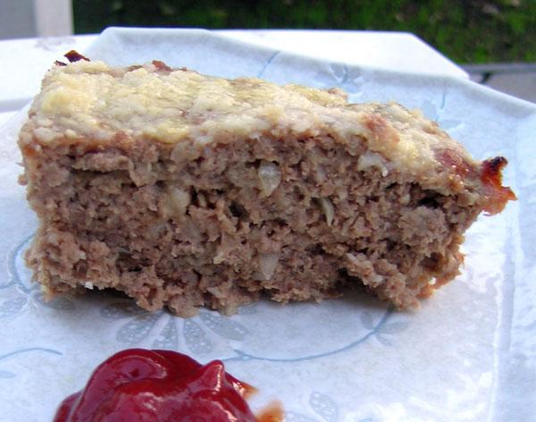 Cottage Cheese Meatloaf from 1968