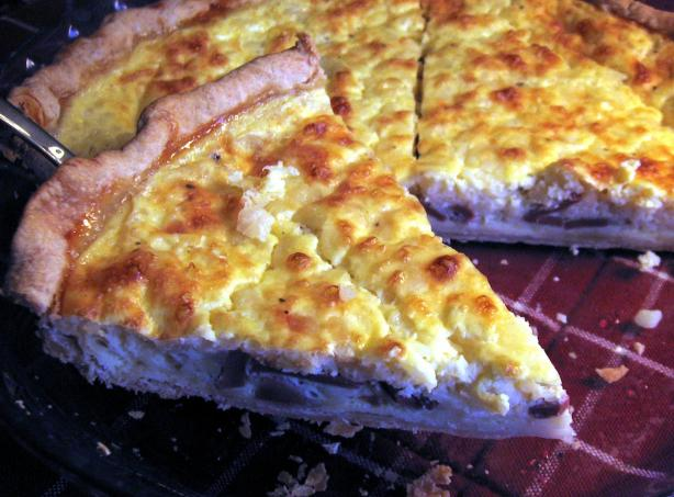 Cottage Cheese Quiche Lorraine