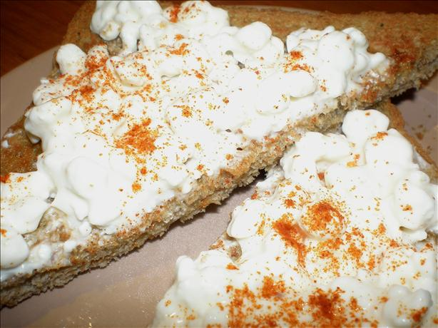 Cottage Cheese on Toast