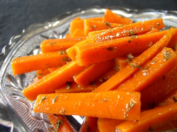 Moroccan Carrot and Cinnamon Salad