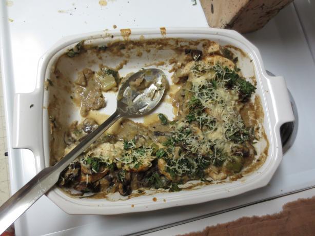 Chicken, Leek & Mushroom Casserole