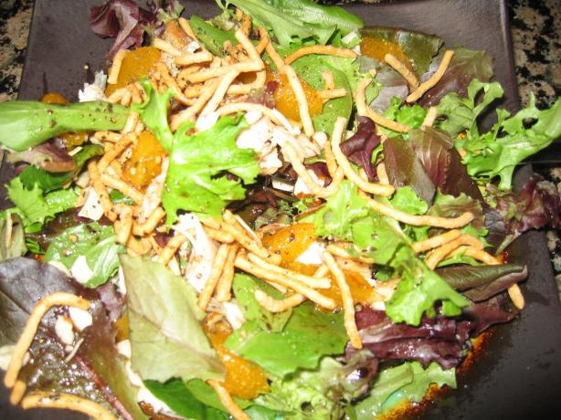 Oriental Chicken Mandarin Salad