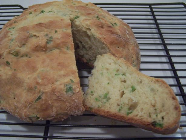 Green Onion Quick Bread