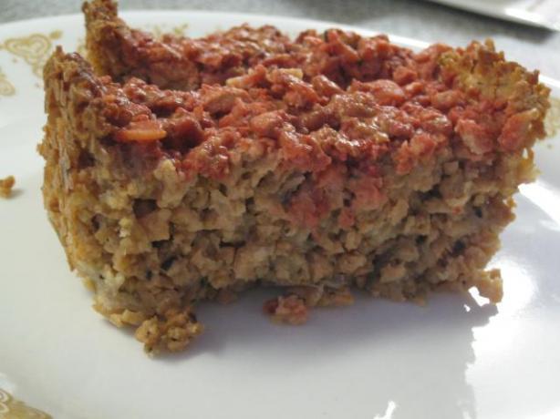 Low Fat Rice Krispie Meat Loaf