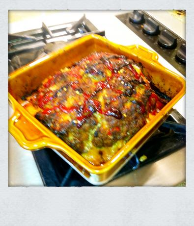Spicy Meatloaf With Lamb, Weight Watchers Count Your Points!