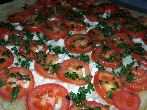 Herbed Tomato Tart