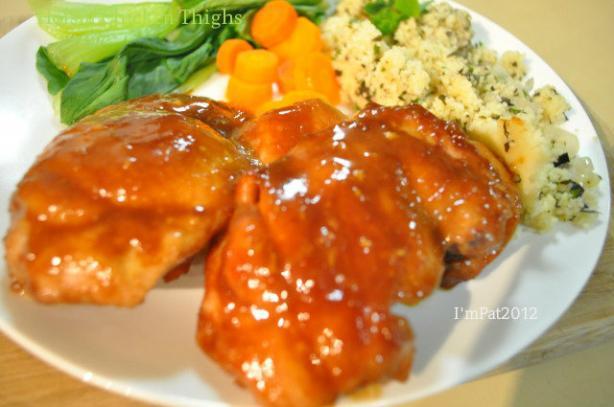 Hoisin Chicken Thighs