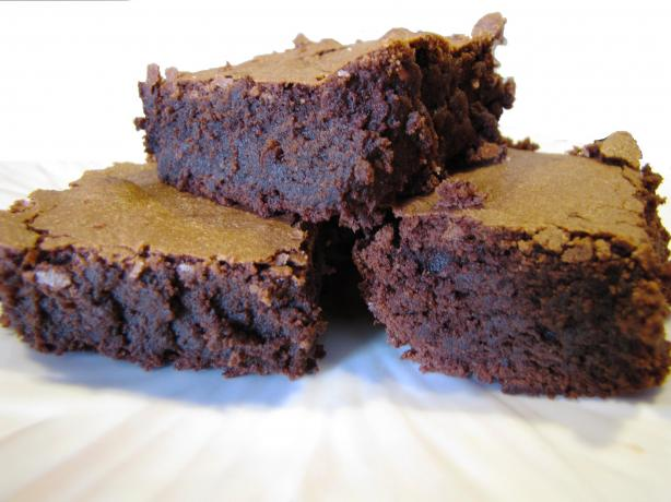 Intensely Deep Dark Chocolate Brownies