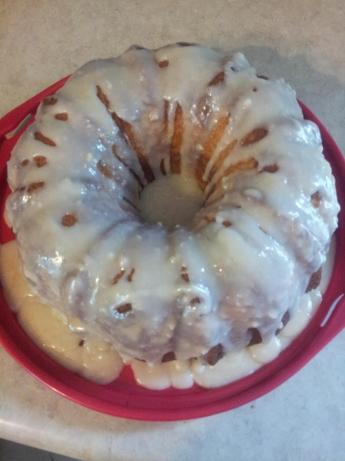 White Chocolate Pound Cake With White Chocolate Icing