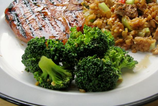 Oriental Stir Fried Broccoli