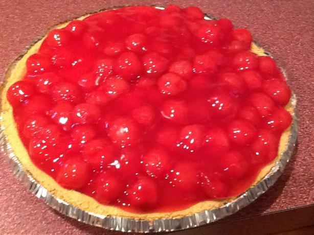 Cherry-O-Creamy Cheesecake Pie