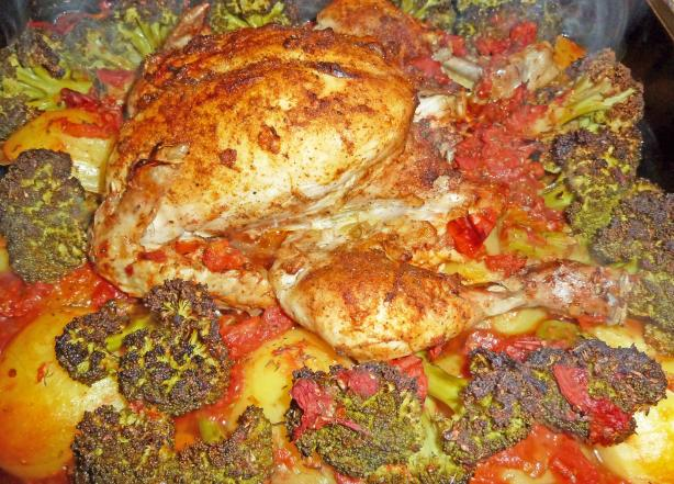 Herbed Chicken and Veggies