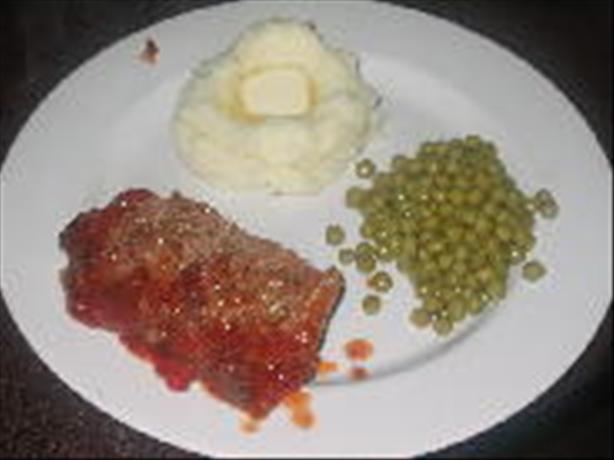 Mama O's Saucy Sweet Meatloaf
