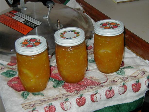 Yellow Pear Tomato Preserves