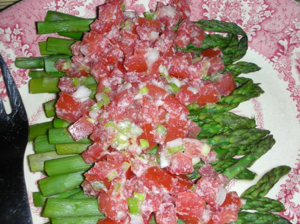 Savory Italian Asparagus