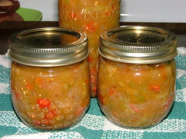 Piccalilli (Green Tomato Chutney)