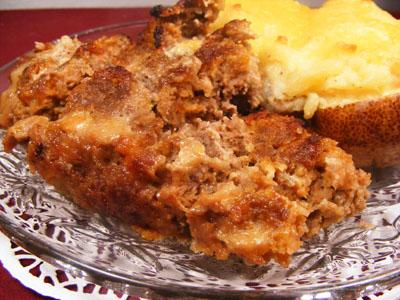 Favorite Old Fashioned Meatloaf
