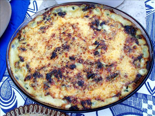 Naudine's Potato and Spinach Bake