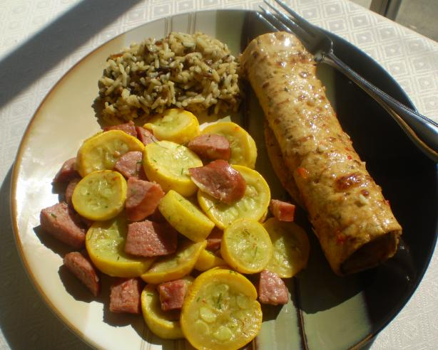 Sausage and Summer Squash