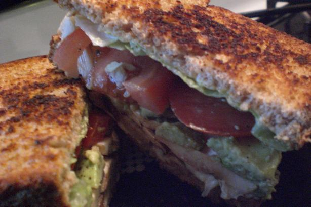 Awesome Avocado and Mushroom Melt