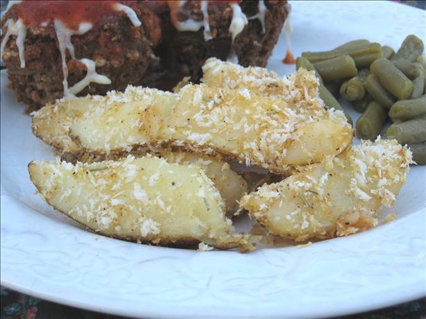 Crispy Potato Wedges