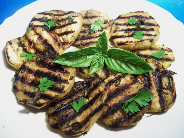 Herb Grilled Eggplant (Aubergine)
