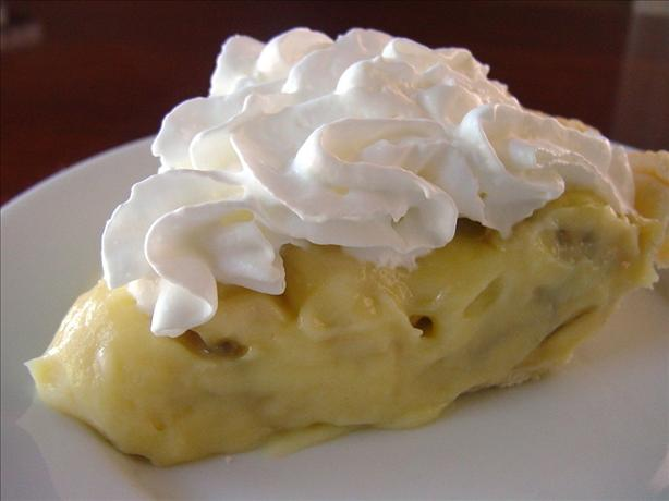 Granny's Banana Cream Pie