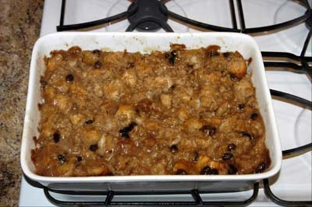 Chef Joey's Vegan Bread Pudding