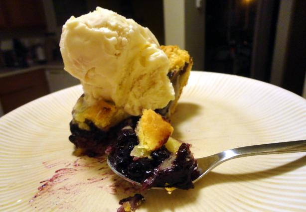 Blueberry-Banana Pie
