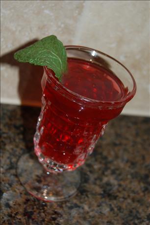 Children's Raspberry 'mojito' (Nonalcoholic)