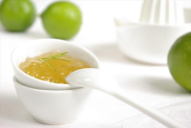 Lime Jam With Ginger and Vanilla