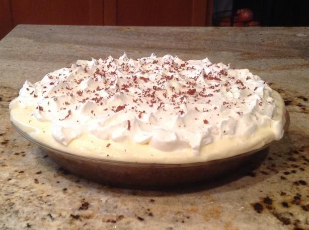Black Bottom Pie (Gingersnap Crust)
