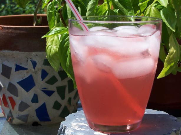Adult's Cherry Vanilla Limeade