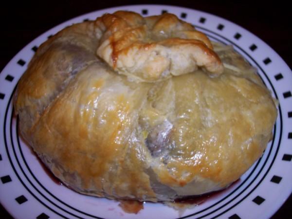 Paula Deen's Brie En Croute #2