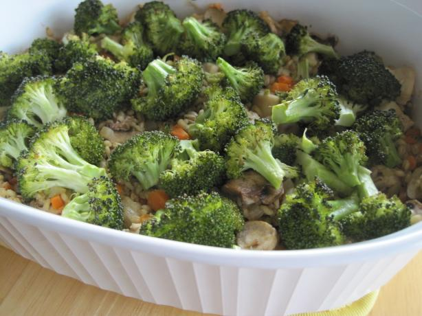Roasted Broccoli & Chicken Bake
