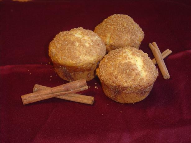 Sour Cream Cinnamon Nut Muffins