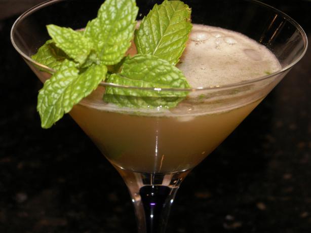 Lemon and Lime Tango Cocktail
