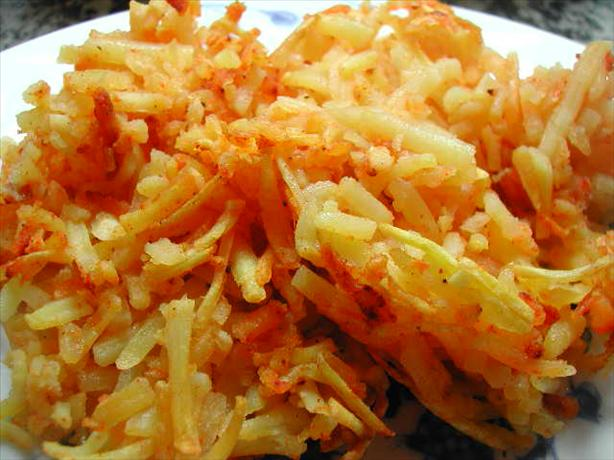 Spicy Hash Browns - Homemade