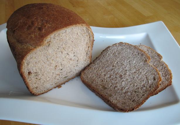 Honey Banana Whole Wheat Bread-Bread Machine