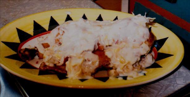 Baked Rosemary Chicken in Artichoke-Carbonara Sauce