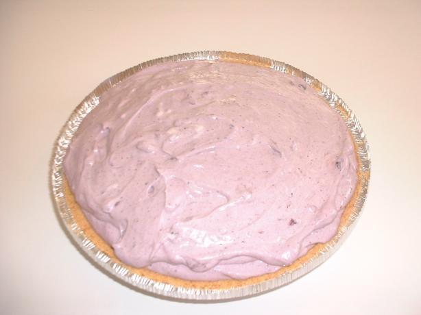 Jim's Blueberry Cream Cheese Pie (Lightened)