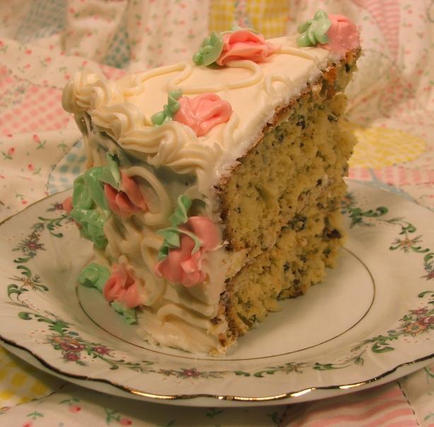 Amy's Coconut Pecan Cake