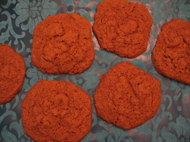 Giant Low Fat Ginger Cookies
