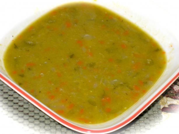 Soupe Au Pois a Memere (French Canadian Pea Soup)