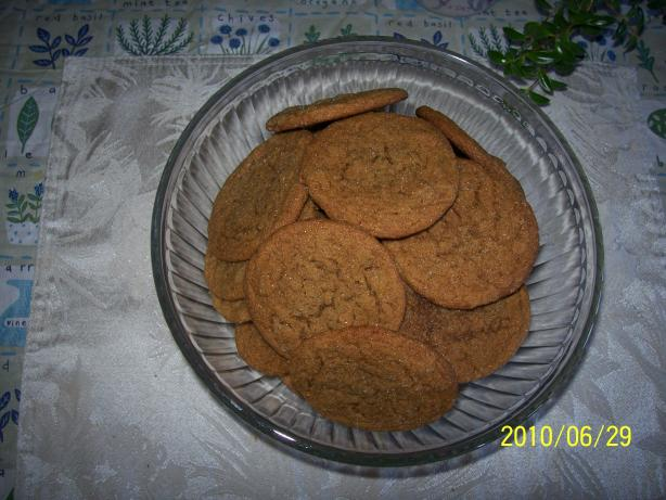 Moxie's Crystallized Ginger Cookies