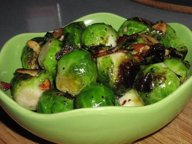 Panfried Brussels Sprouts With a New Flavour